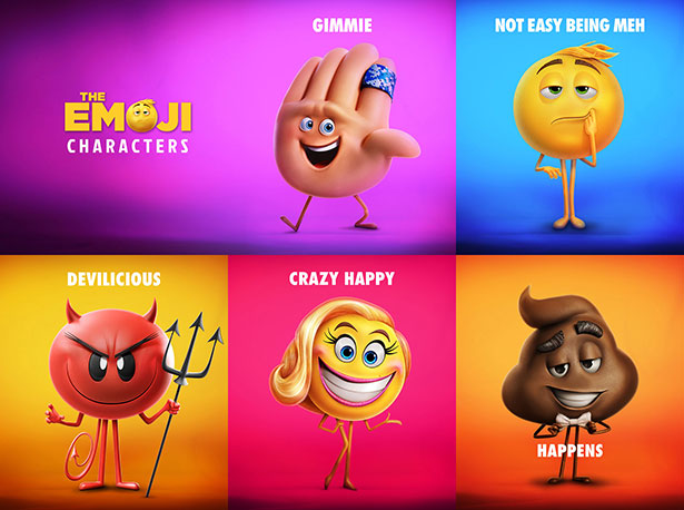 Jailbrak Emoji Movie Characters Pictures to Pin on 615x458
