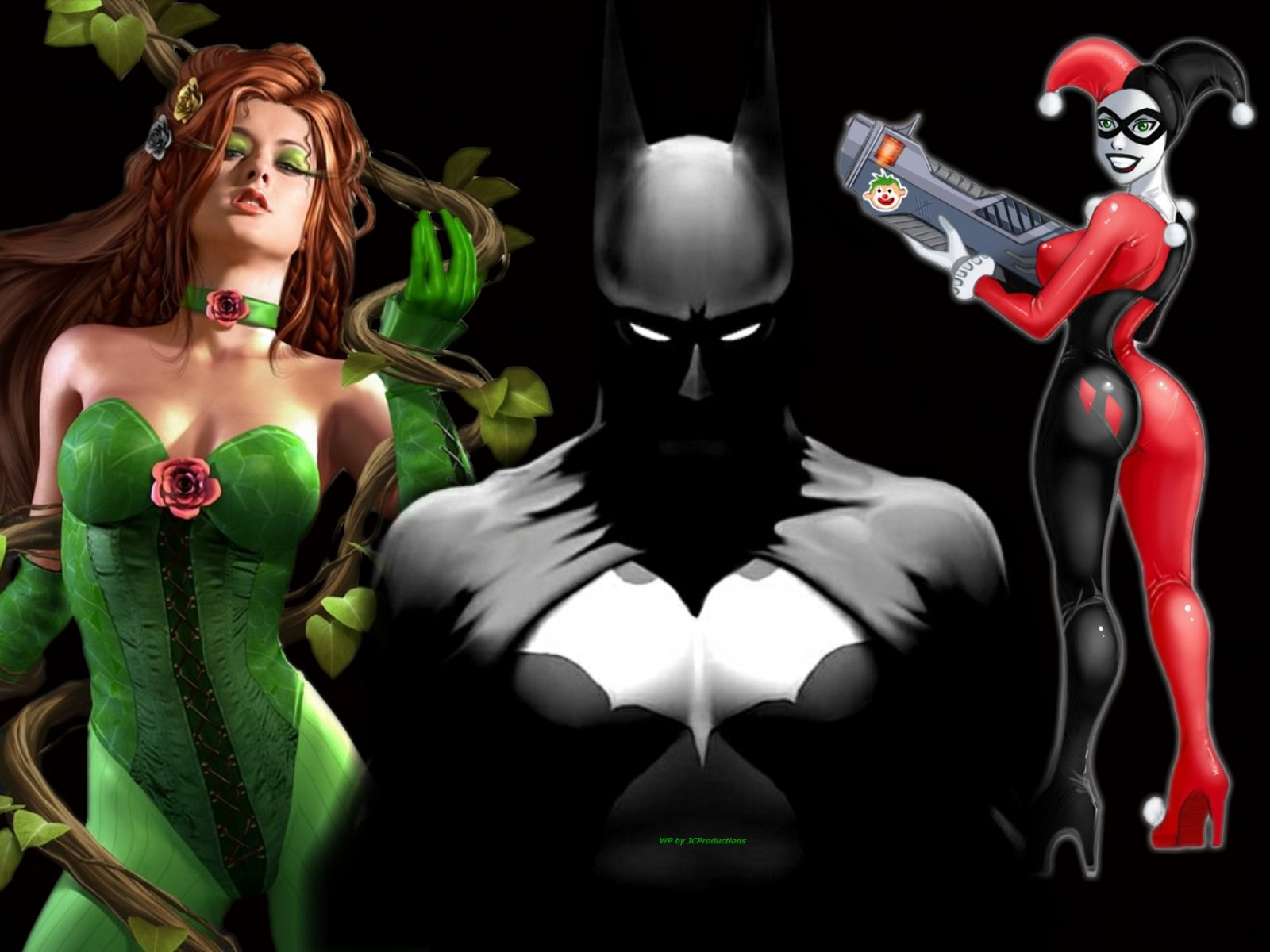 48 Sexy Poison Ivy Wallpaper On Wallpapersafari