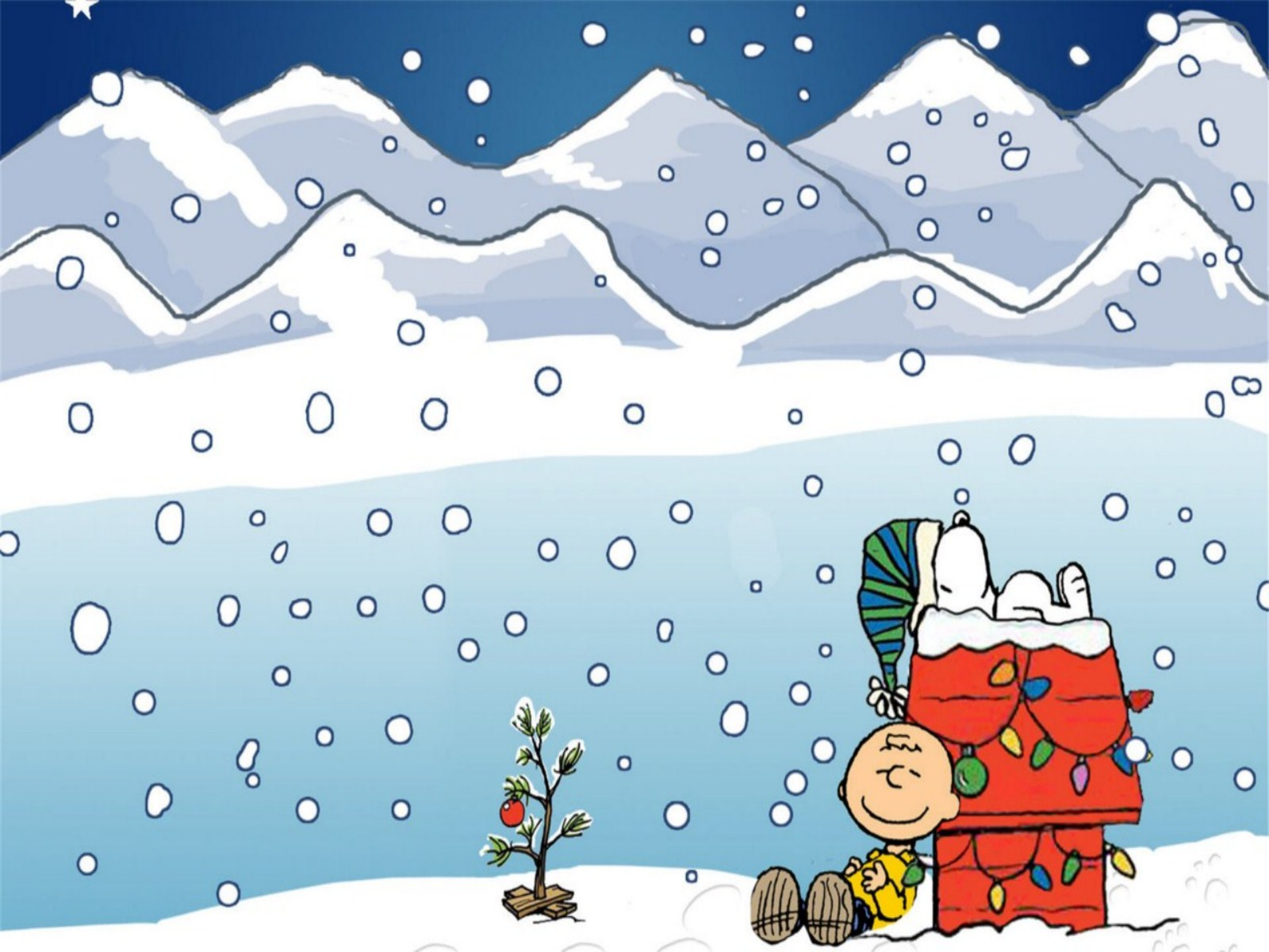 Charlie Brown Christmas Wallpaper Wallpaper Mansion 1600x1200