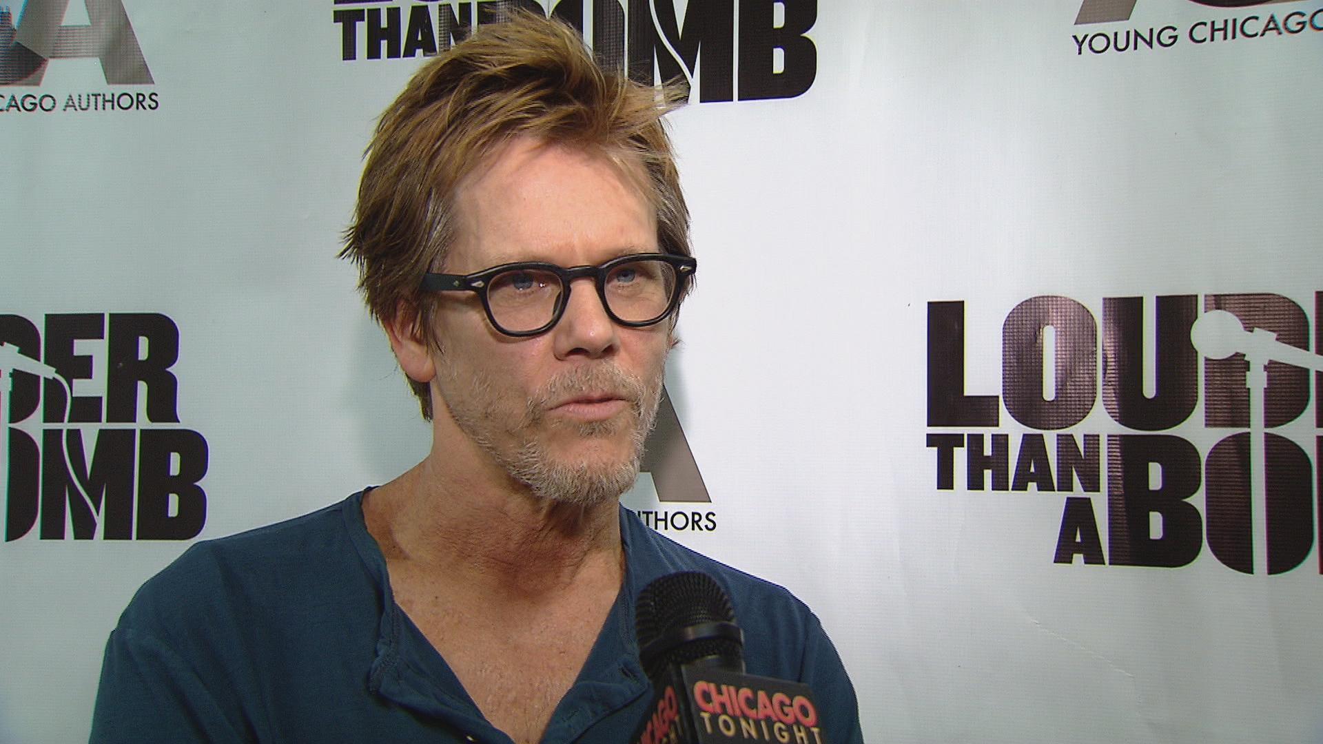 Actor Kevin Bacon Speaks With Young Chicago Authors Chicago News 1920x1080