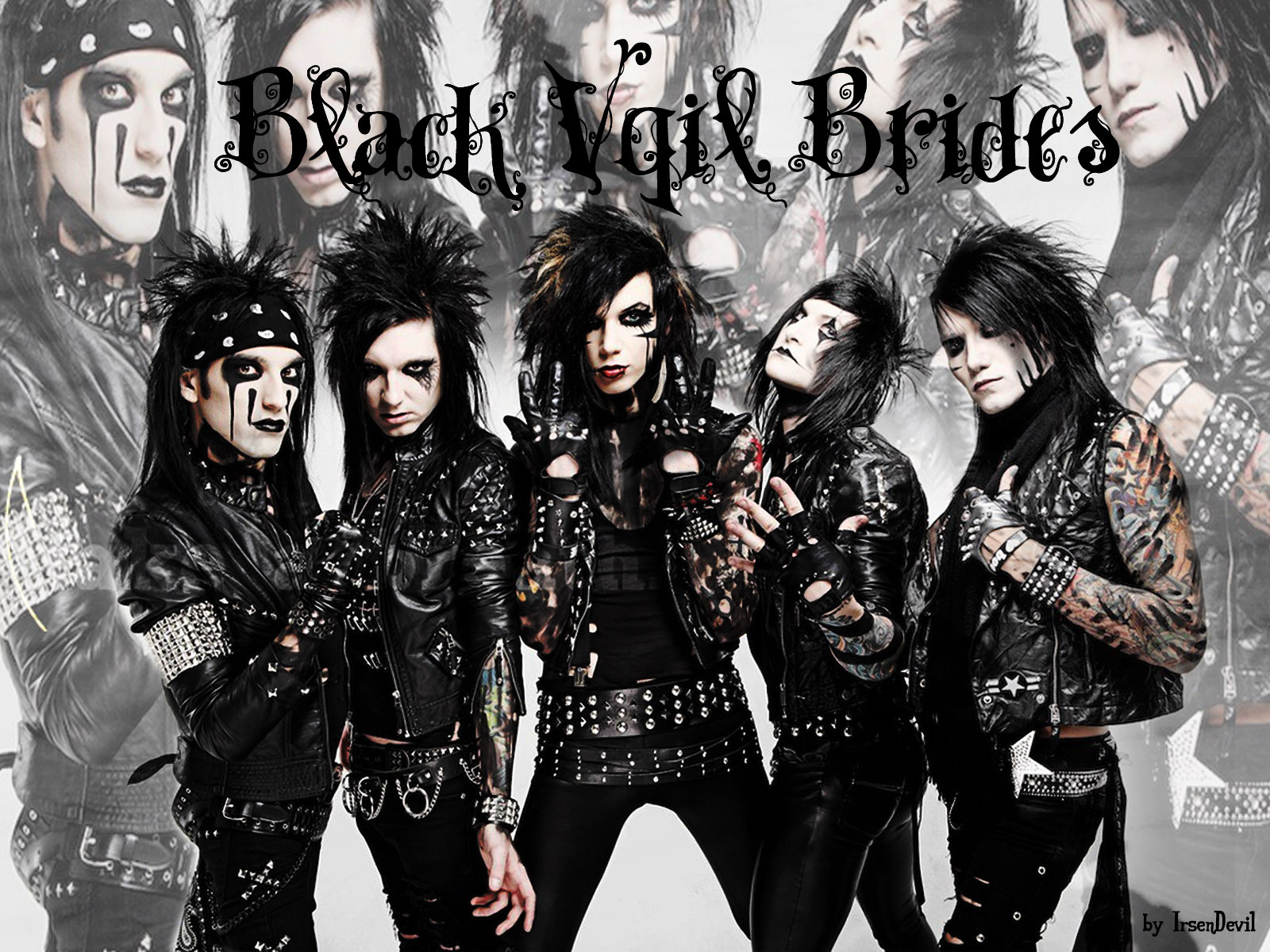 Altwall Black Veil Brides wallpaper 1600x1200