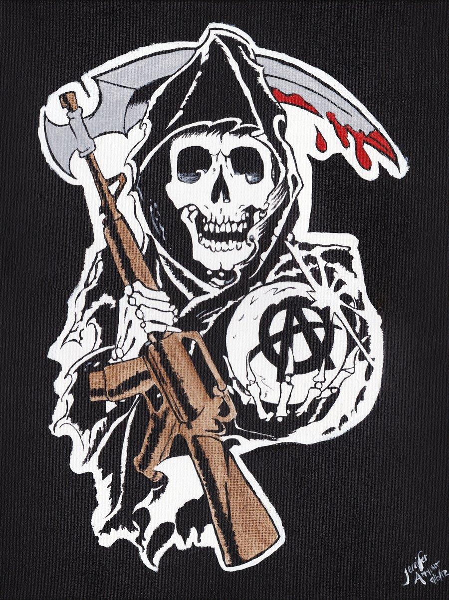 Prächtig Sons of Anarchy Reaper Wallpaper - WallpaperSafari &RE_38