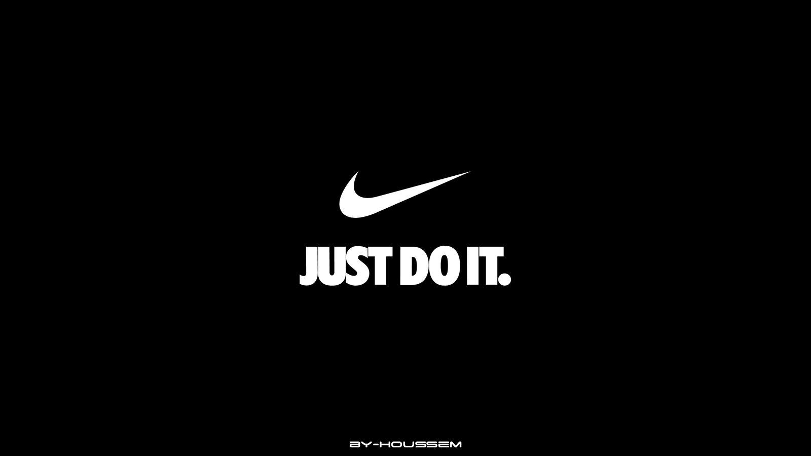 【最も気に入った】 Nike Just Do It 壁紙 - illustoye