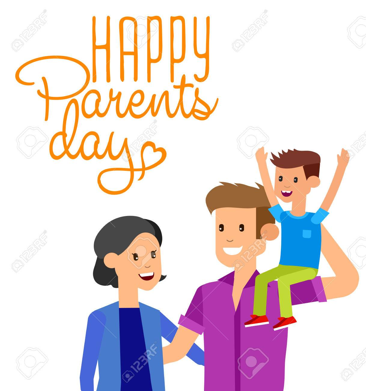 Happy Parents Day Background Happy Parents Day Card Calligraphy 1218x1300