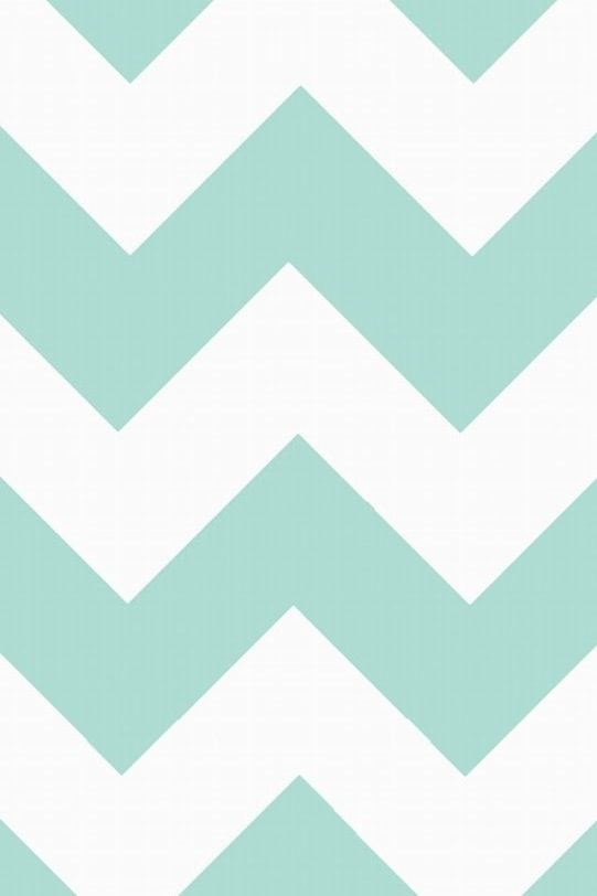 Mint green chevron iPhone wallpaper Pinterest 541x812