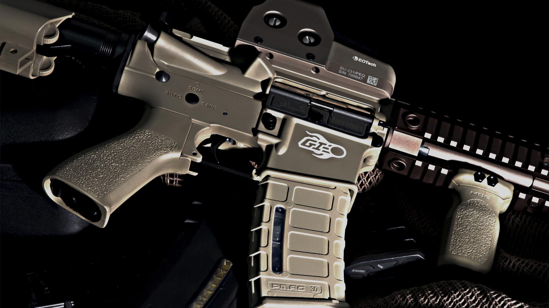Cool Gun Wallpapers HD
