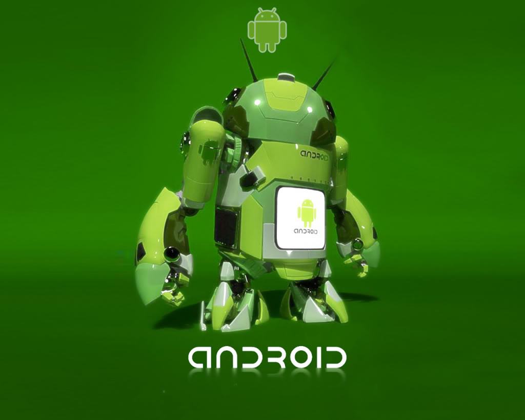 Green Pirate Robot Android Wallpaper Linux Wallpapers 1024x819