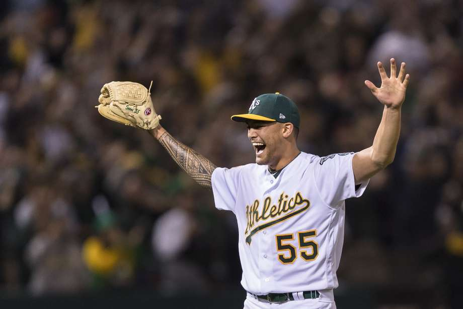 As Sean Manaea gets AL weekly honors after no hitter   SFGate 920x613
