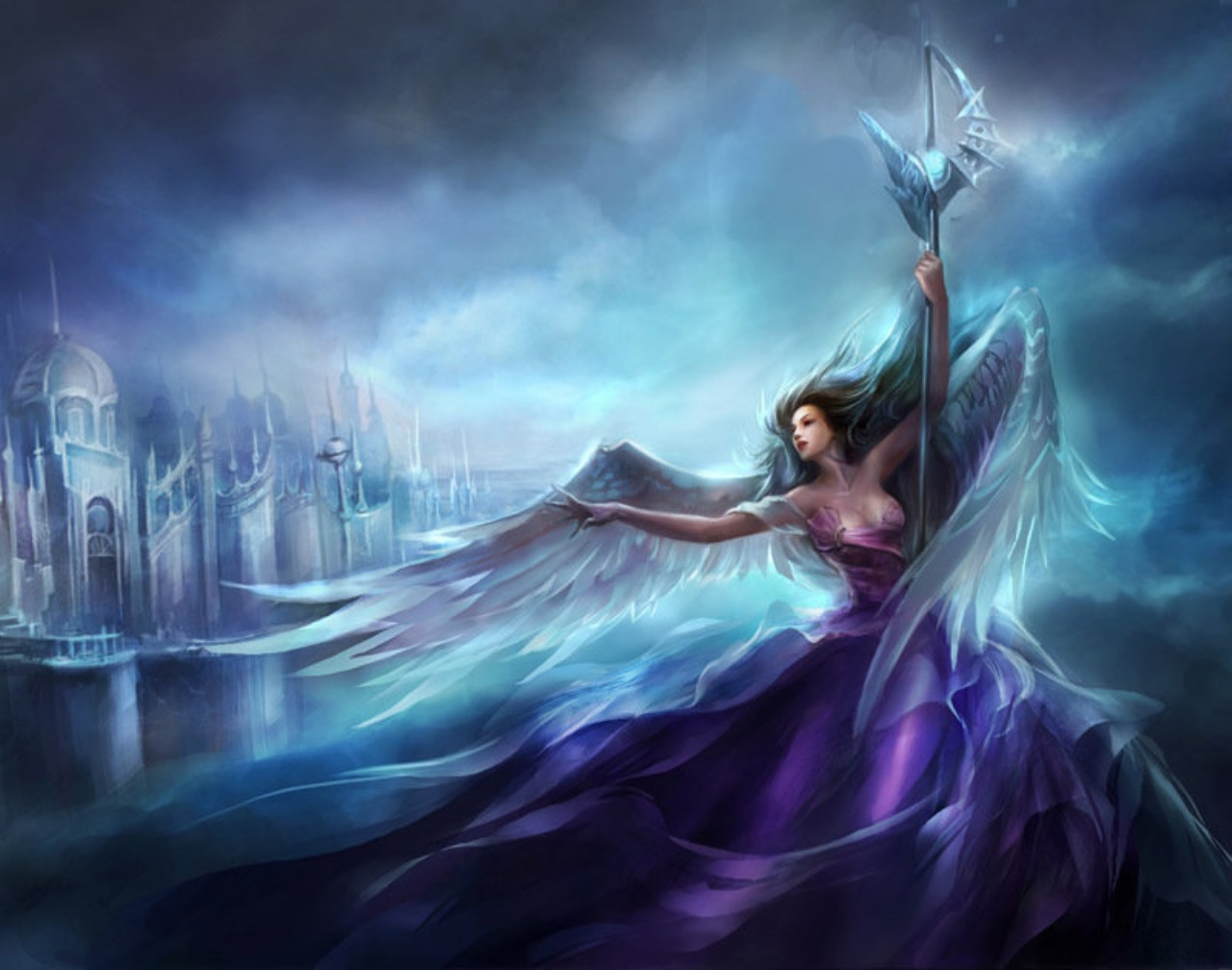 HD Fantasy Woman Wallpapers 1280x1008