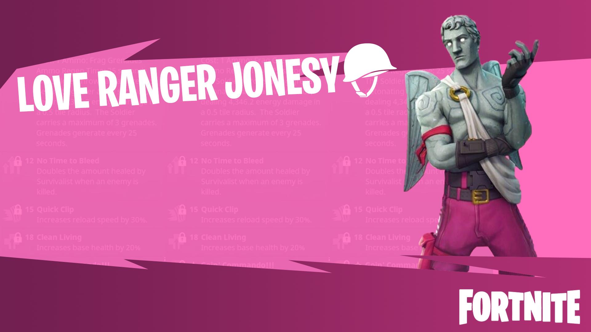 Love Ranger Fortnite Wallpapers 1920x1080