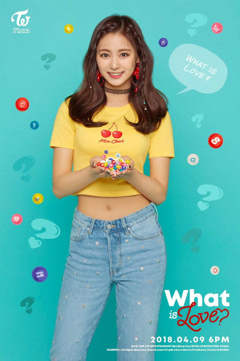 Twice JYP Ent images Tzuyus teaser image for What is Love HD 798x1199