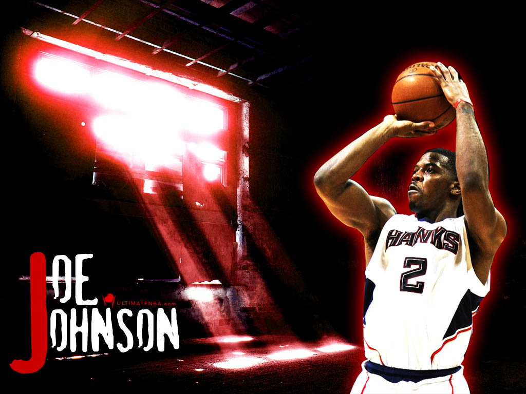 Wallpapers Joe Johnson NBA 1024x768
