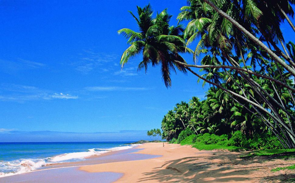 Beach in Sri Lanka HD Wallpaper Wallpapers Best places to 970x600