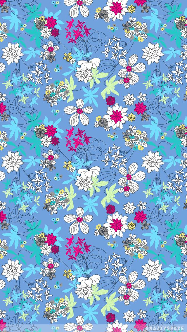 640x1136px Cute Floral Iphone Wallpapers Wallpapersafari