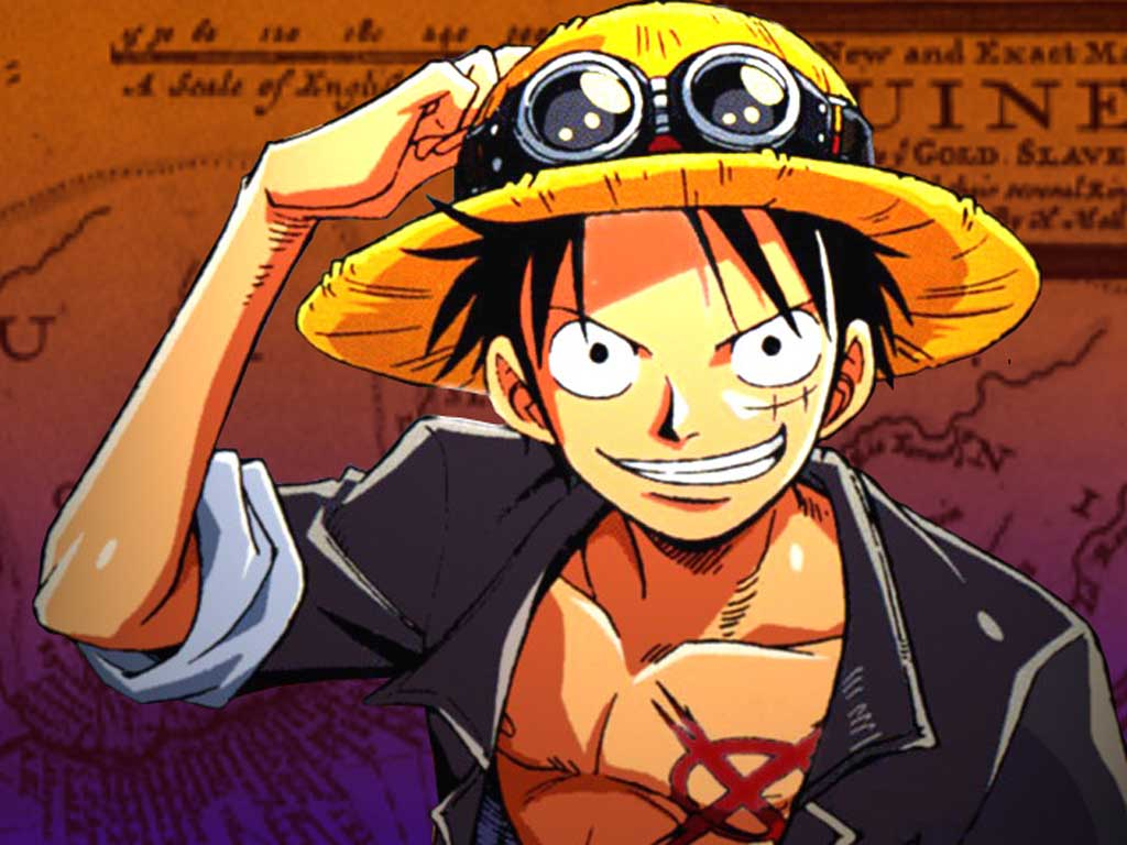 Top Cartoon Wallpapers Monkey D Luffy One Piece Wallpapers 1024x768