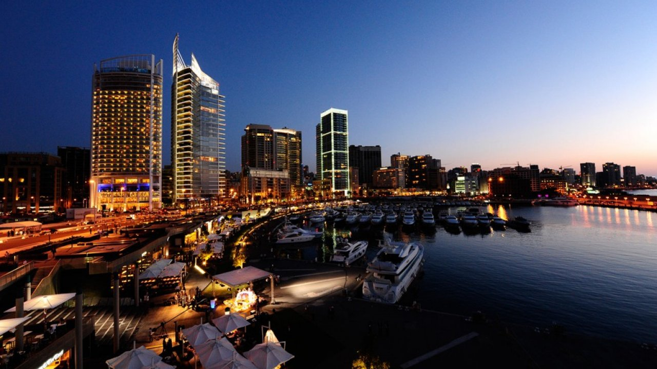 Beirut Waterfront Lebanon HD New Desktop Wallpaper 1280x720
