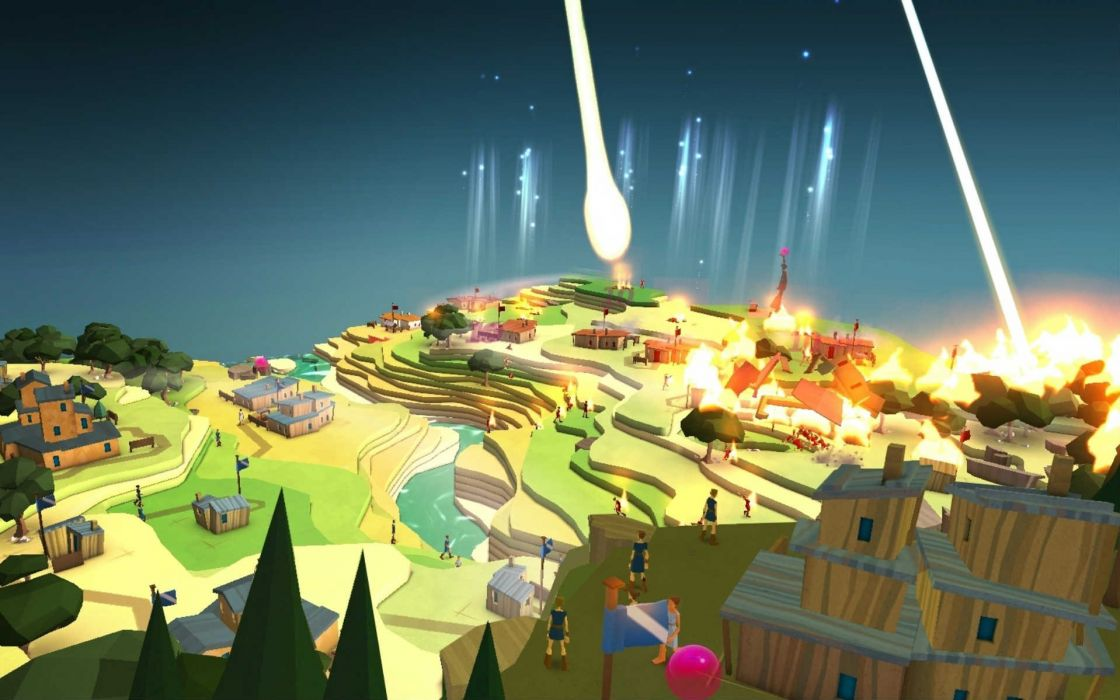 GODUS god gods fantasy strategy adventure simulator sandbox giant 1120x700