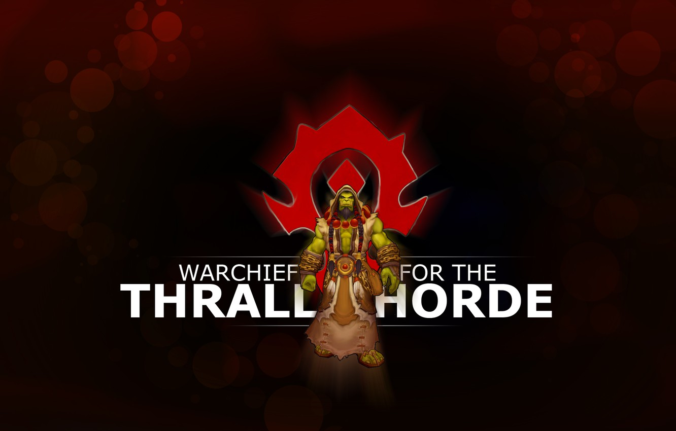 Wallpaper coat of arms Orc wow Horde world of warcraft the 1332x850