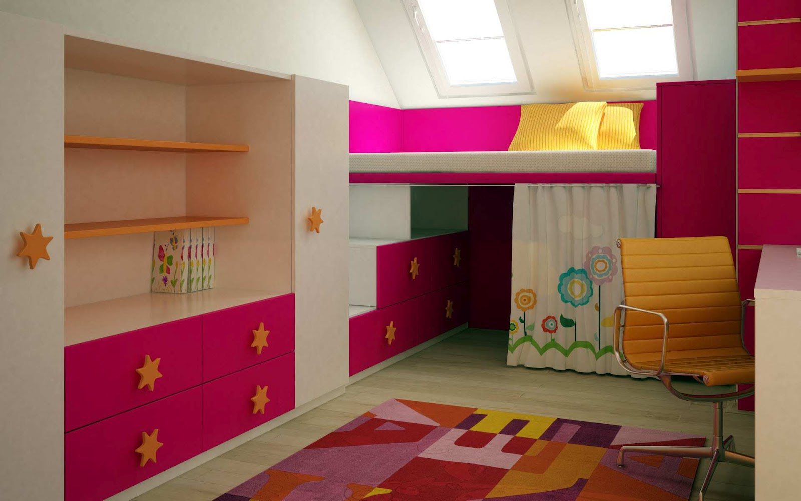 About Kids Bedroom Wallpaper Ideas For Kids Room With Pink And Purple 1600x1000
