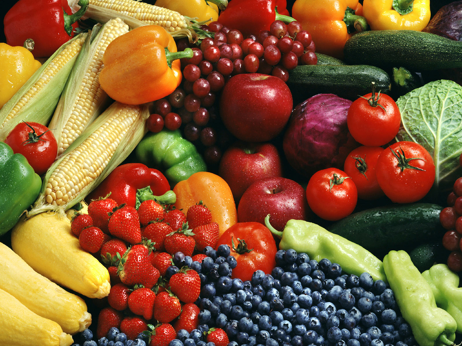 Desktop hd pictures of fruits and vegetables for kids Download 3d HD 1600x1200