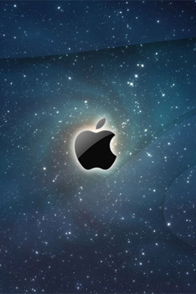 Apple Galaxy iPhone Wallpaper HD 640x960
