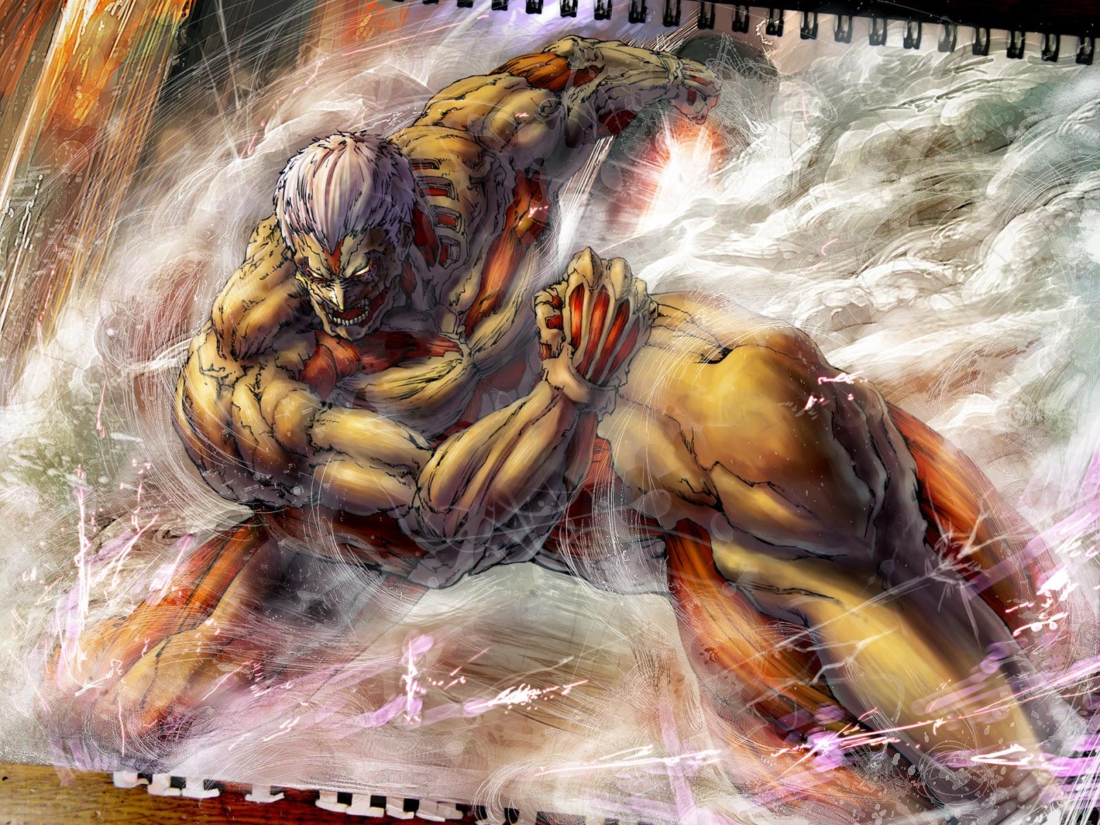 49 Attack On Titan Hd Wallpapers On Wallpapersafari