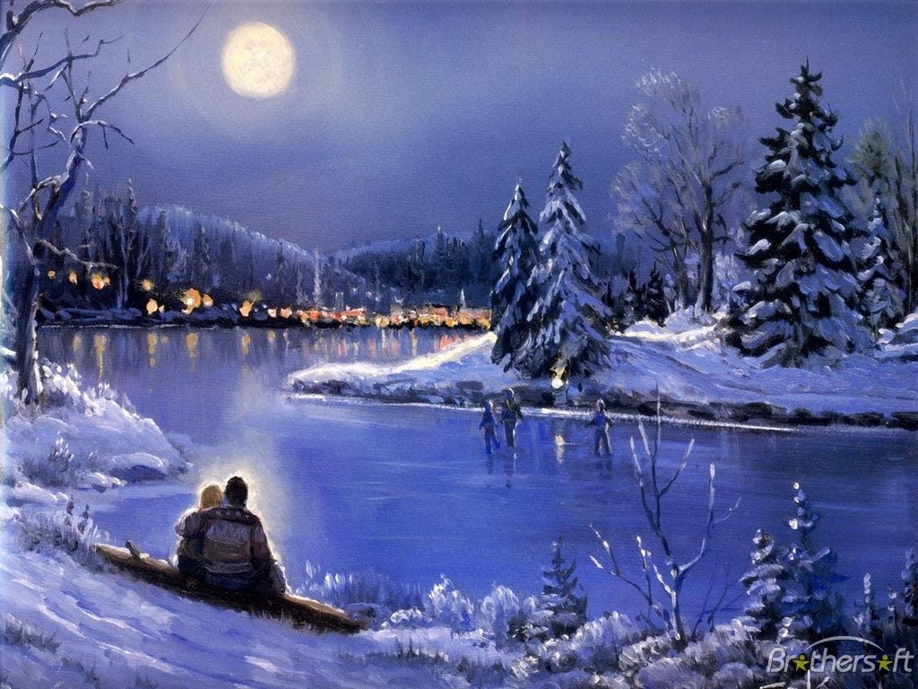 3d winter scenes wallpaper - photo #10