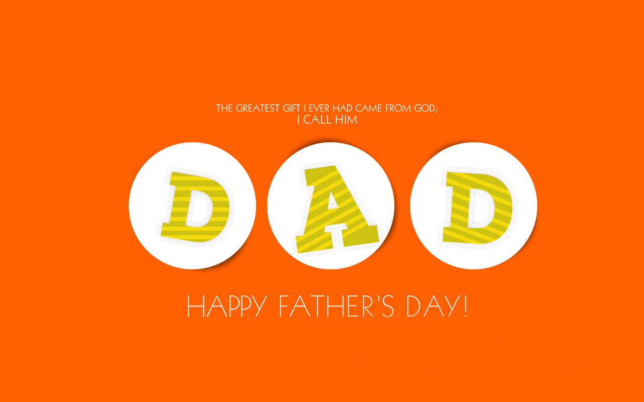 Happy Fathers Day Wallpapers download 1280x800