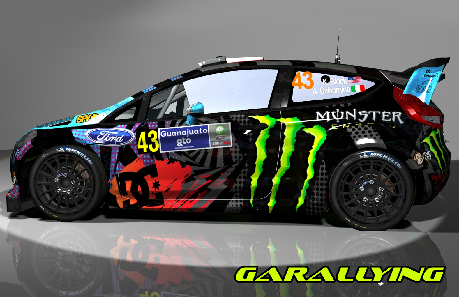 Ken Block Ford Fiesta 2015 Wallpaper