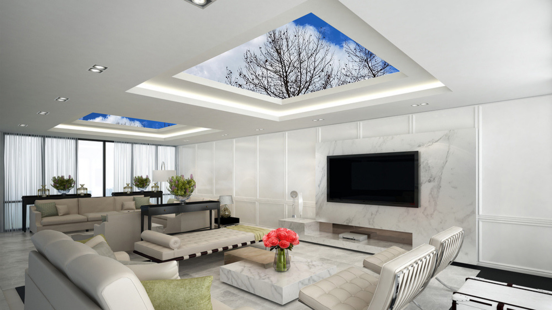 Ceiling Wallpaper Designs Ceiling Wall Decorations in Hyderabad 1920x1080
