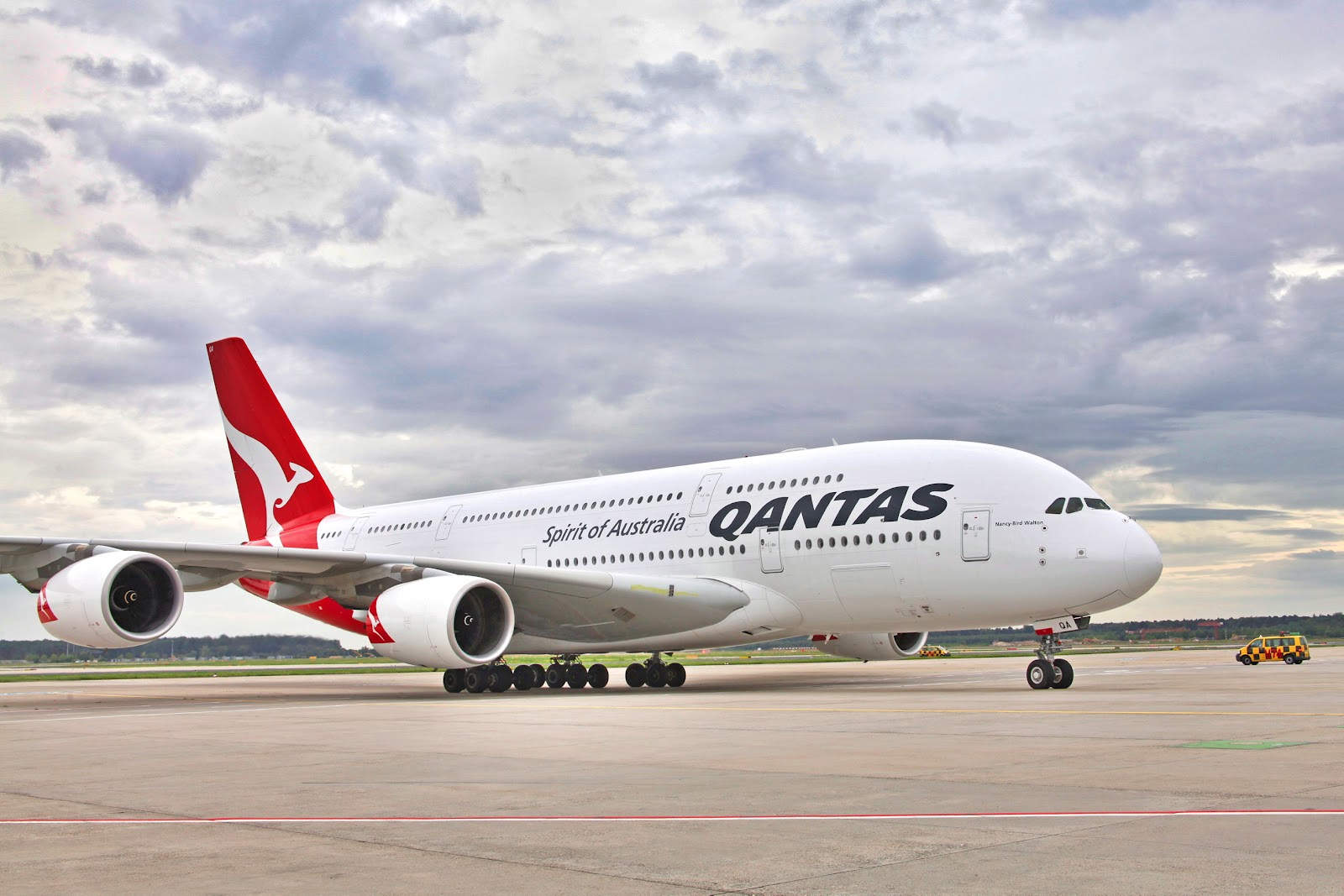 Airbus A380 Nancy bird Walton Qantas Airlines Aircraft Wallpaper 2289 1600x1067