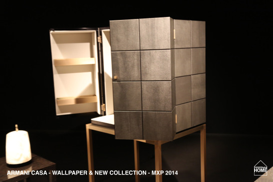 New ARMANI CASA Wallpapers collection items Milano 2014 547x365