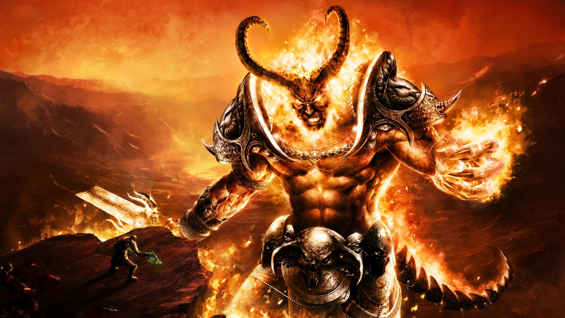 Download Fantasy Demon Wallpaper Full HD Wallpapers 1920x1080