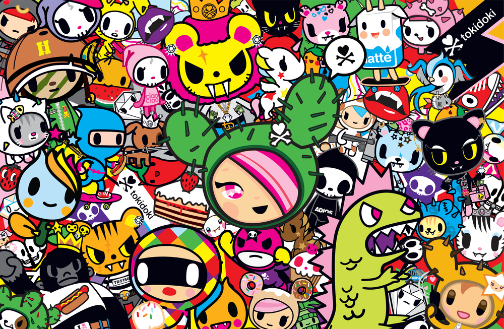 Tokidoki Wallpaper Characters - WallpaperSafari