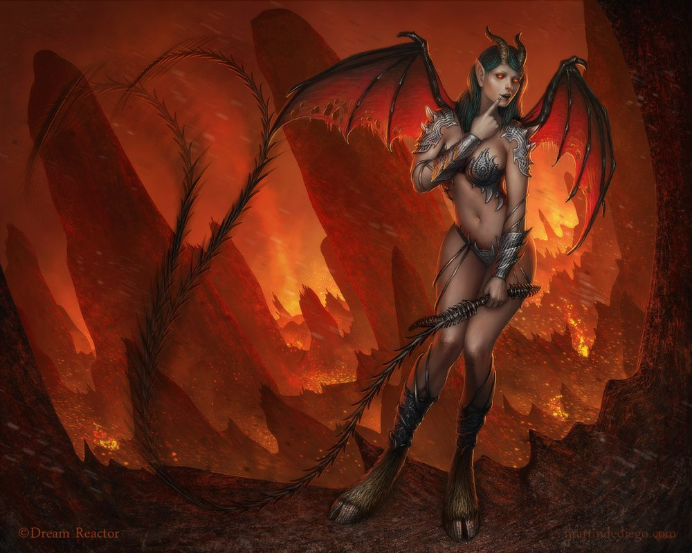 How to get a succubus demon to  xxx photos