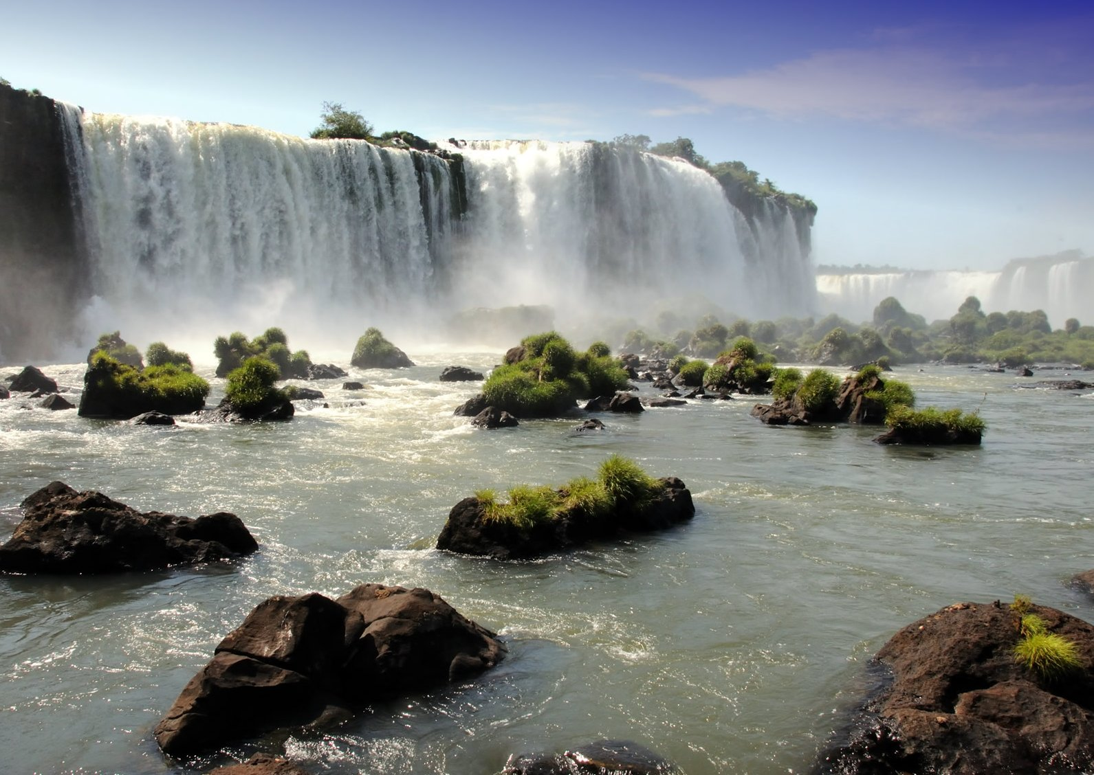 Beautiful Waterfall Wallpaper Desktop Background 1591x1128