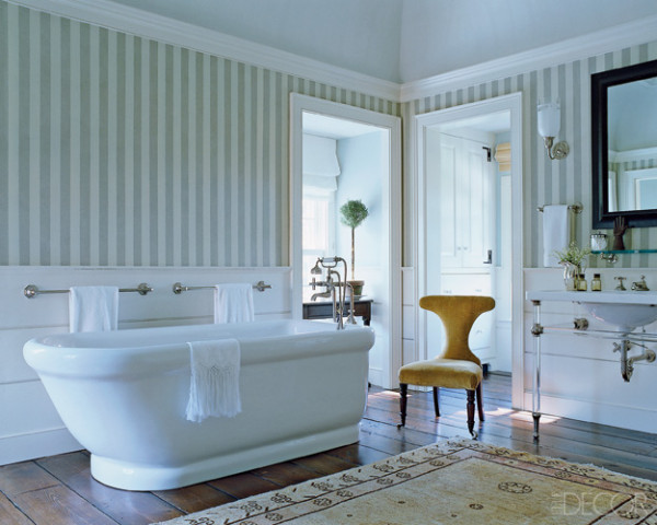 21 Unusual Bathroom Designs With Wallpapers On Walls Photo 600x480