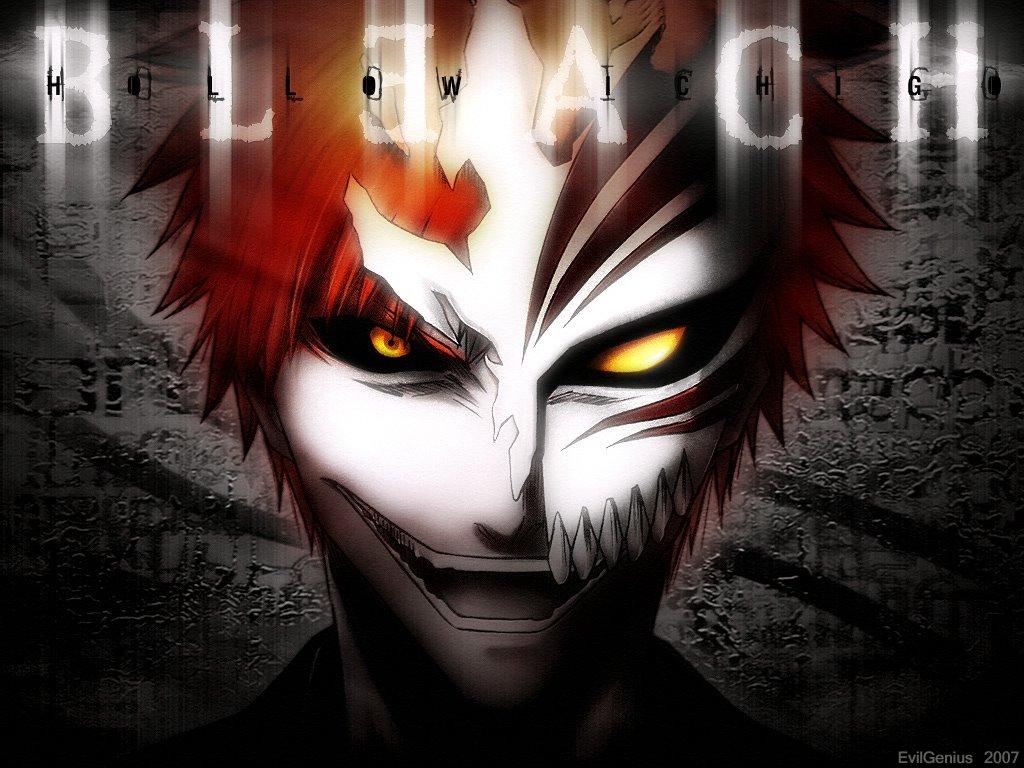 Download the Bleach anime wallpaper titled Hollow Bleach Cichigo 1024x768