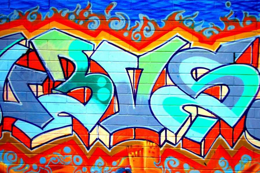 Graffiti Wallpaper Wall Mural Muralswallpaper 4260 Art Graffiti 899x599