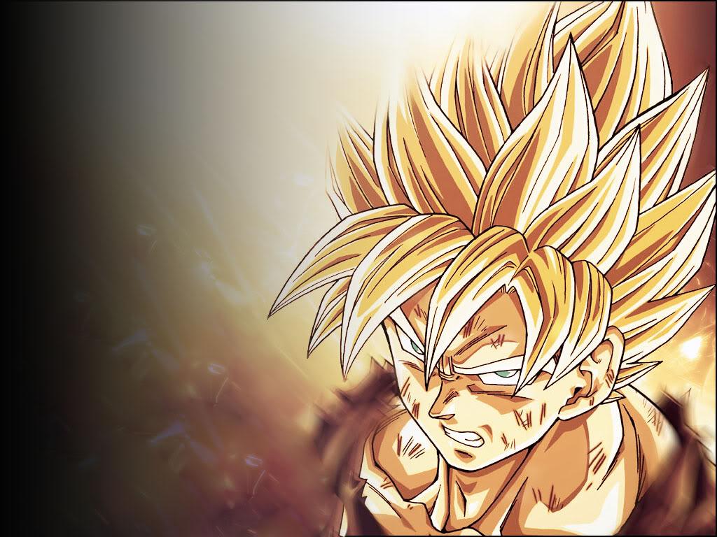 Goku Background   Goku Wallpaper for Desktop 1024x768
