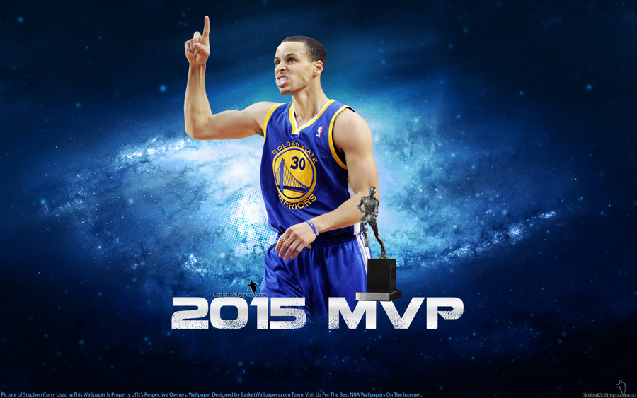Stephen Curry 2015 NBA MVP Wallpaper Basketball Wallpapers at 900x563
