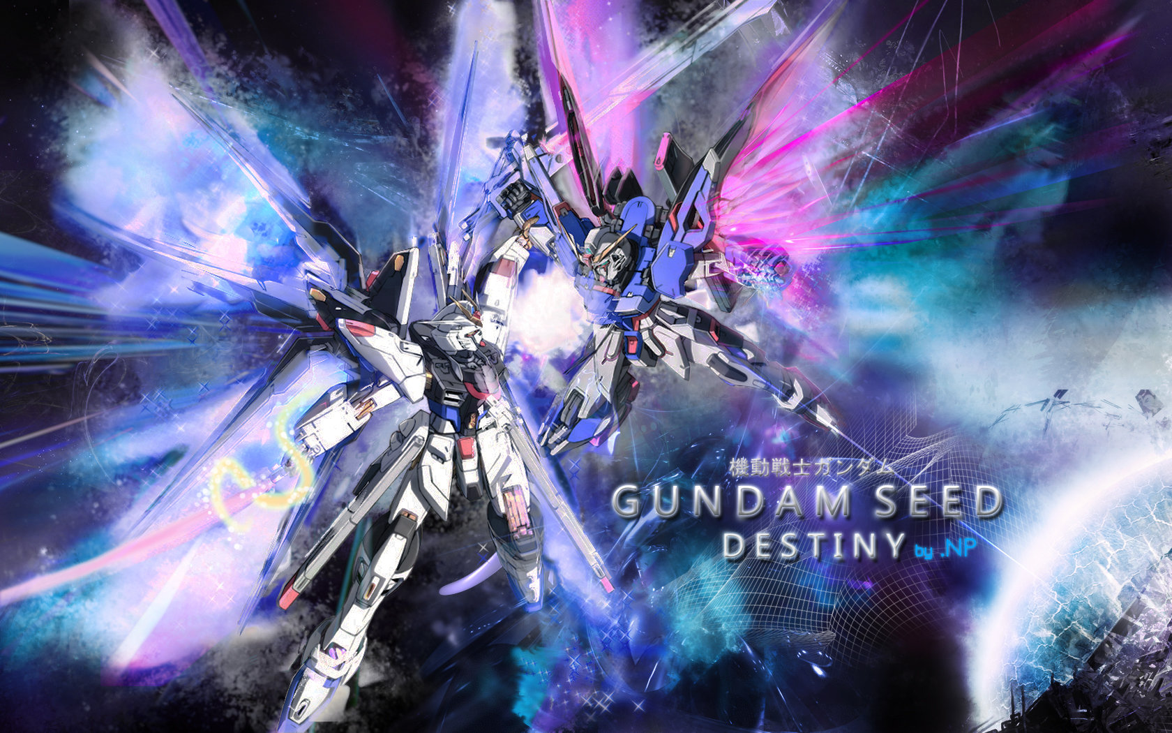 Gundam SEED Destiny by sasukenp 1680x1050