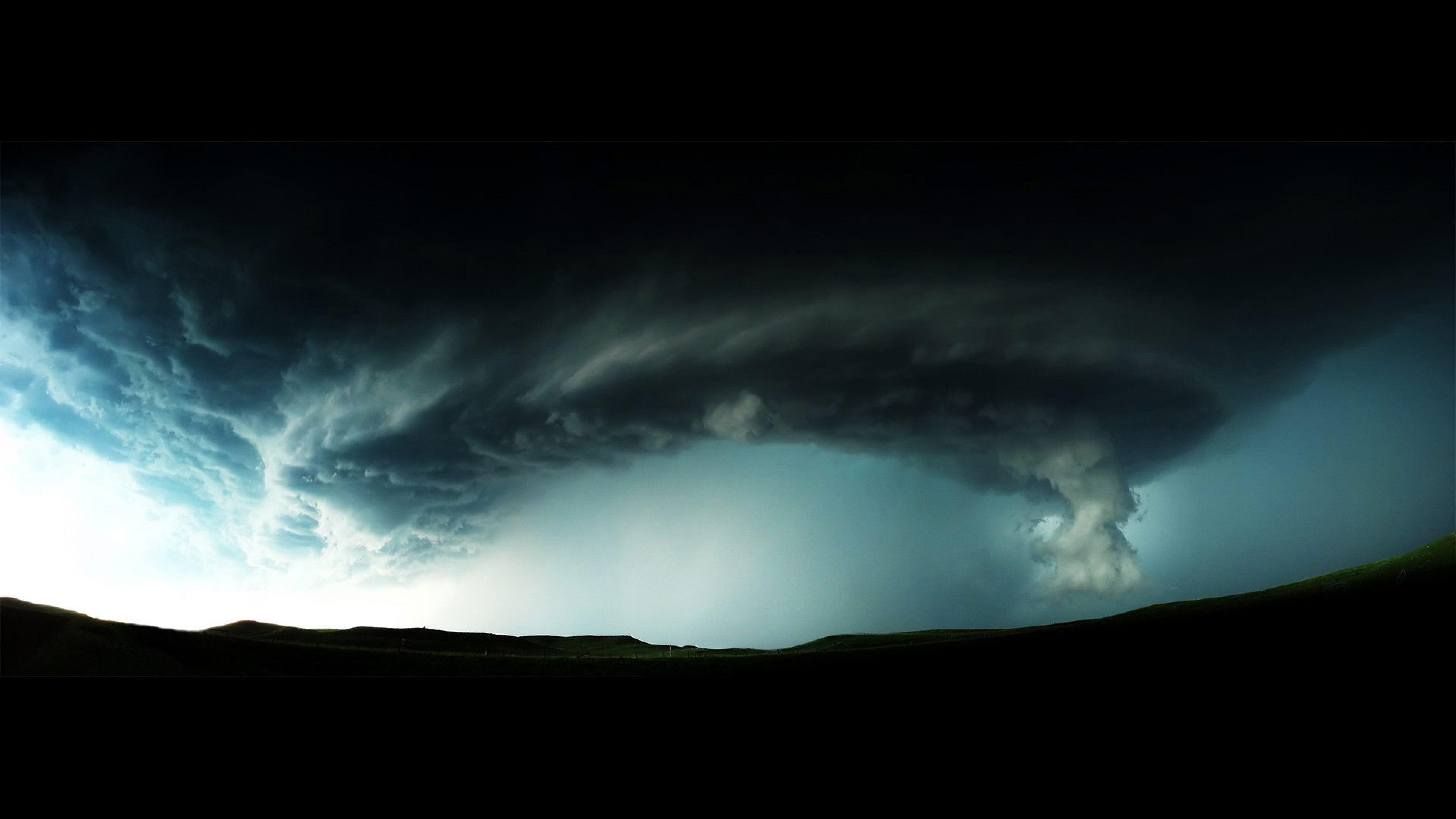 disaster Danger Dark Storm Wallpaper Background 4K Ultra HD 3840x2160