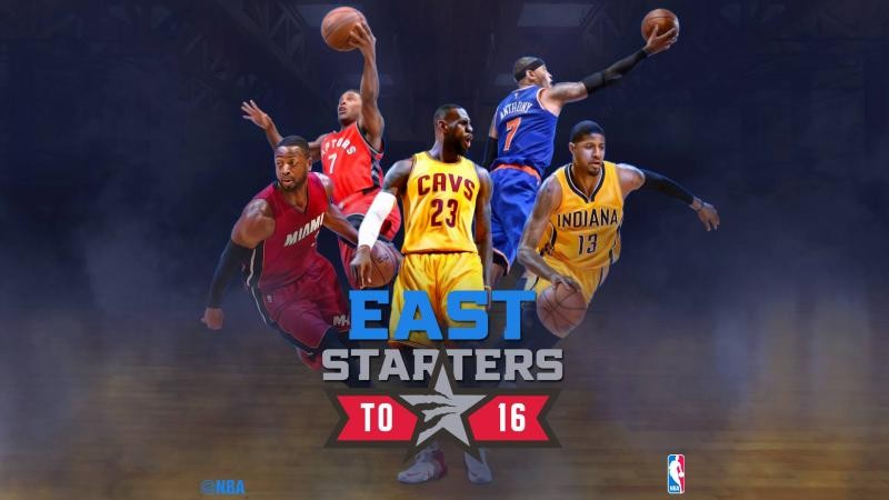 Eastern Conference 2016 NBA All Star Toronto Starters HD Wallpapers 800x450