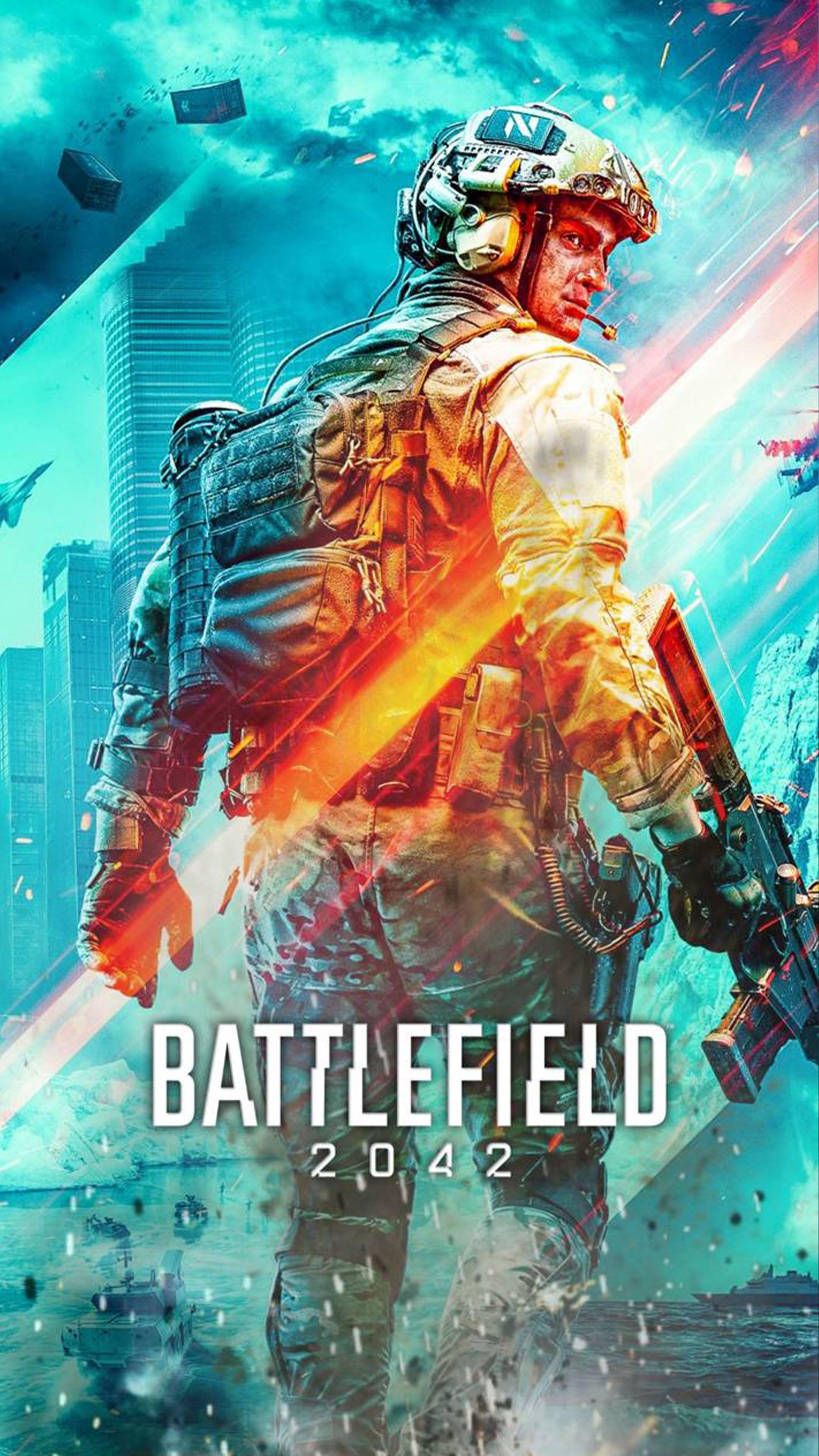 Battlefield 2042 Game Poster 4K Ultra HD Mobile Wallpaper 2160x3840