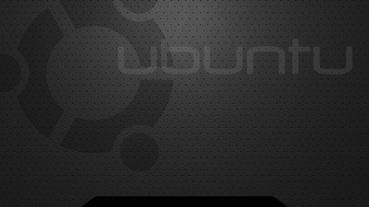 Ubuntu Black Theme Wallpapers HD Wallpaper Downloads 1280x720