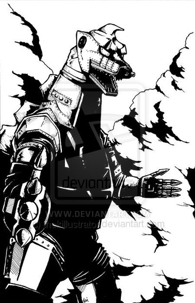 Mechagodzilla Wallpaper More like mechagodzilla by 400x619