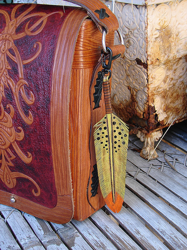 Hand Carved Leather Wallet Hand Tooled Leather Wallet 375x500