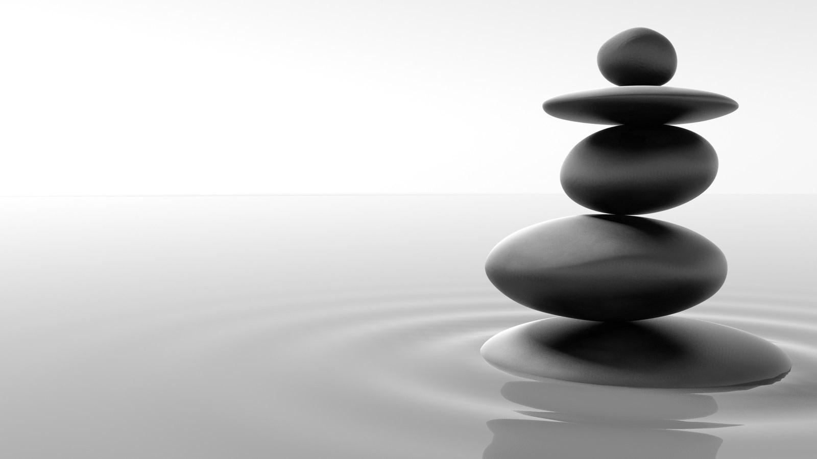 Zen Balance Wallpaper 1600x900 Zen Balance Pebbles 1600x900