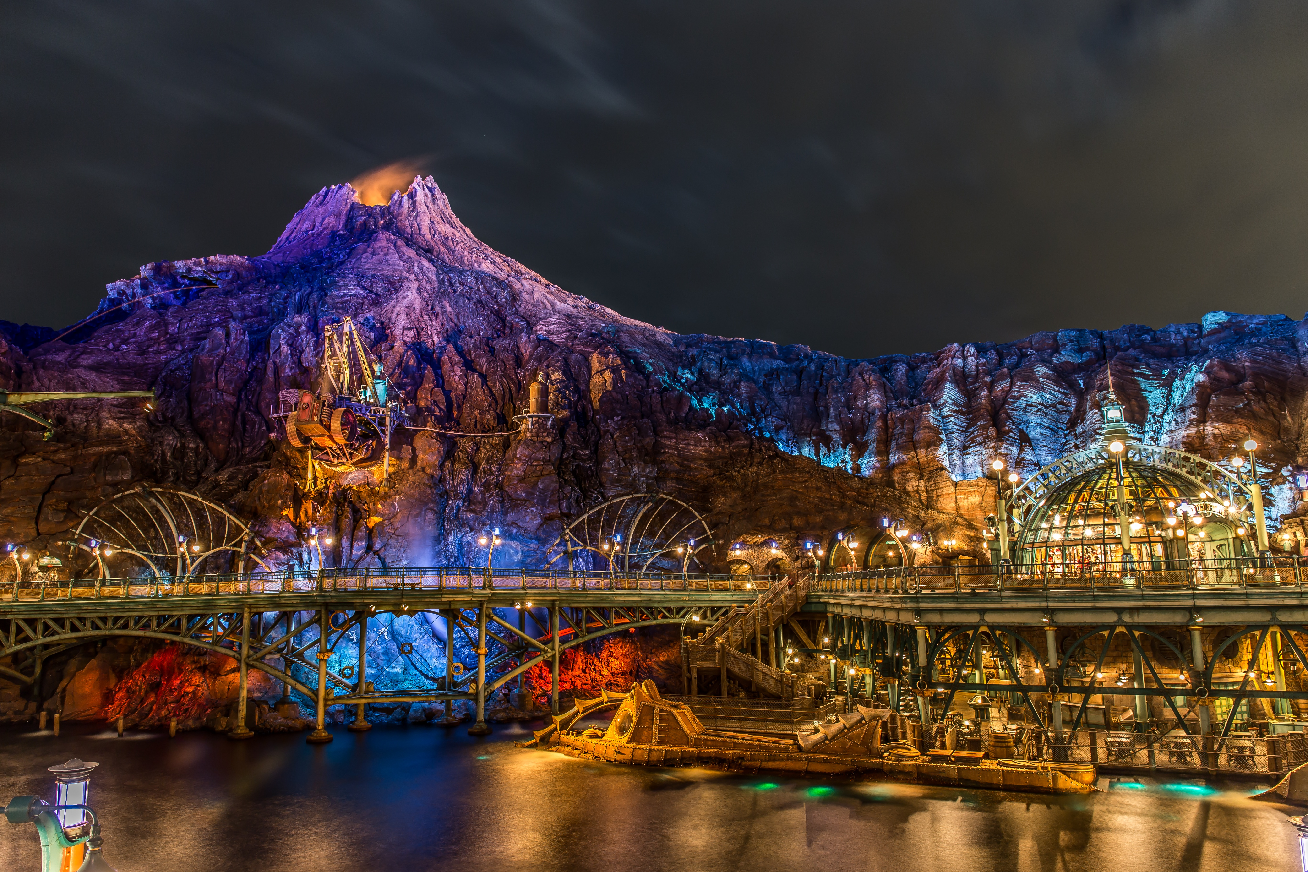 6 Theme Park HD Wallpapers Background Images 5472x3648